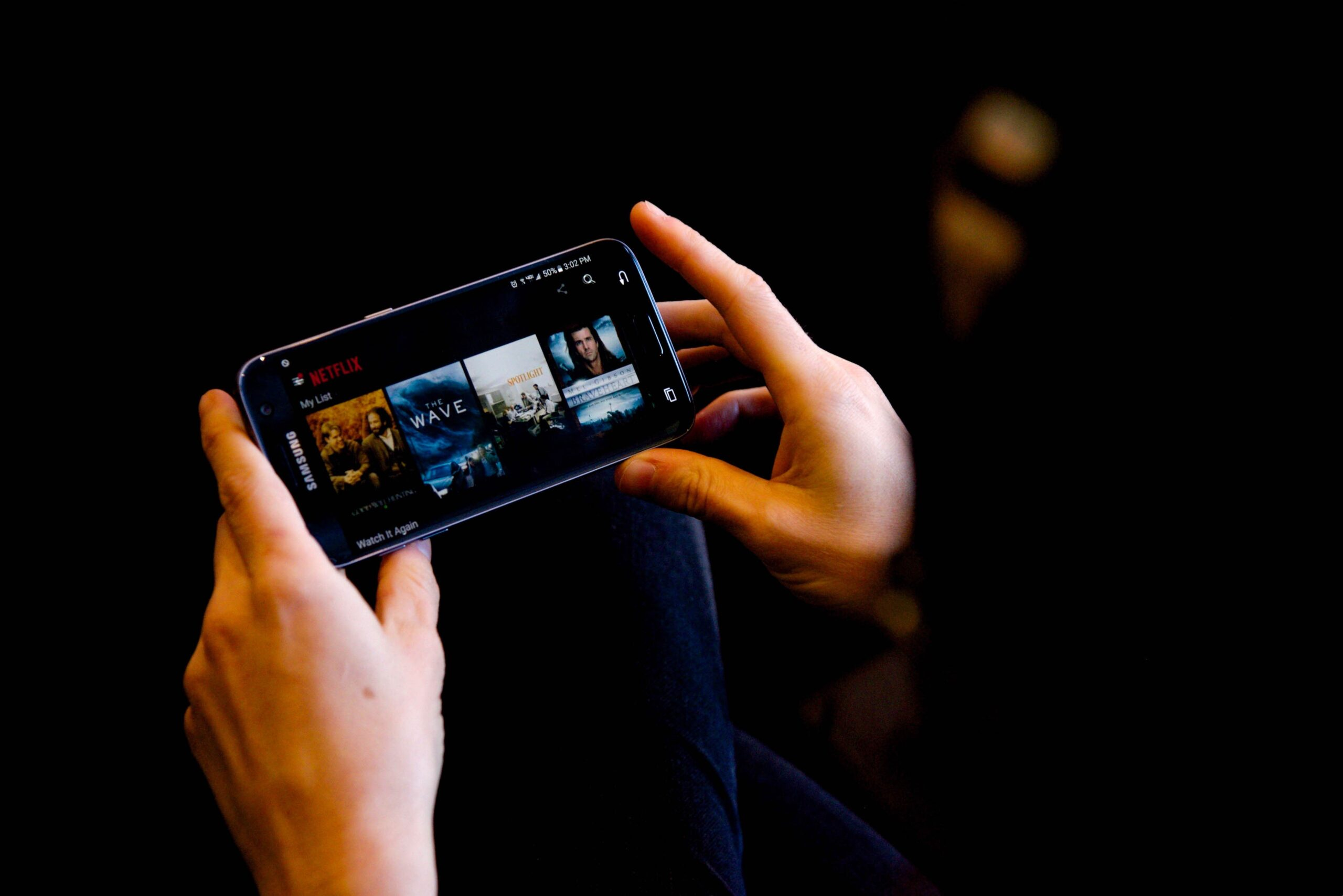 Streaming Movies on Mobile Device