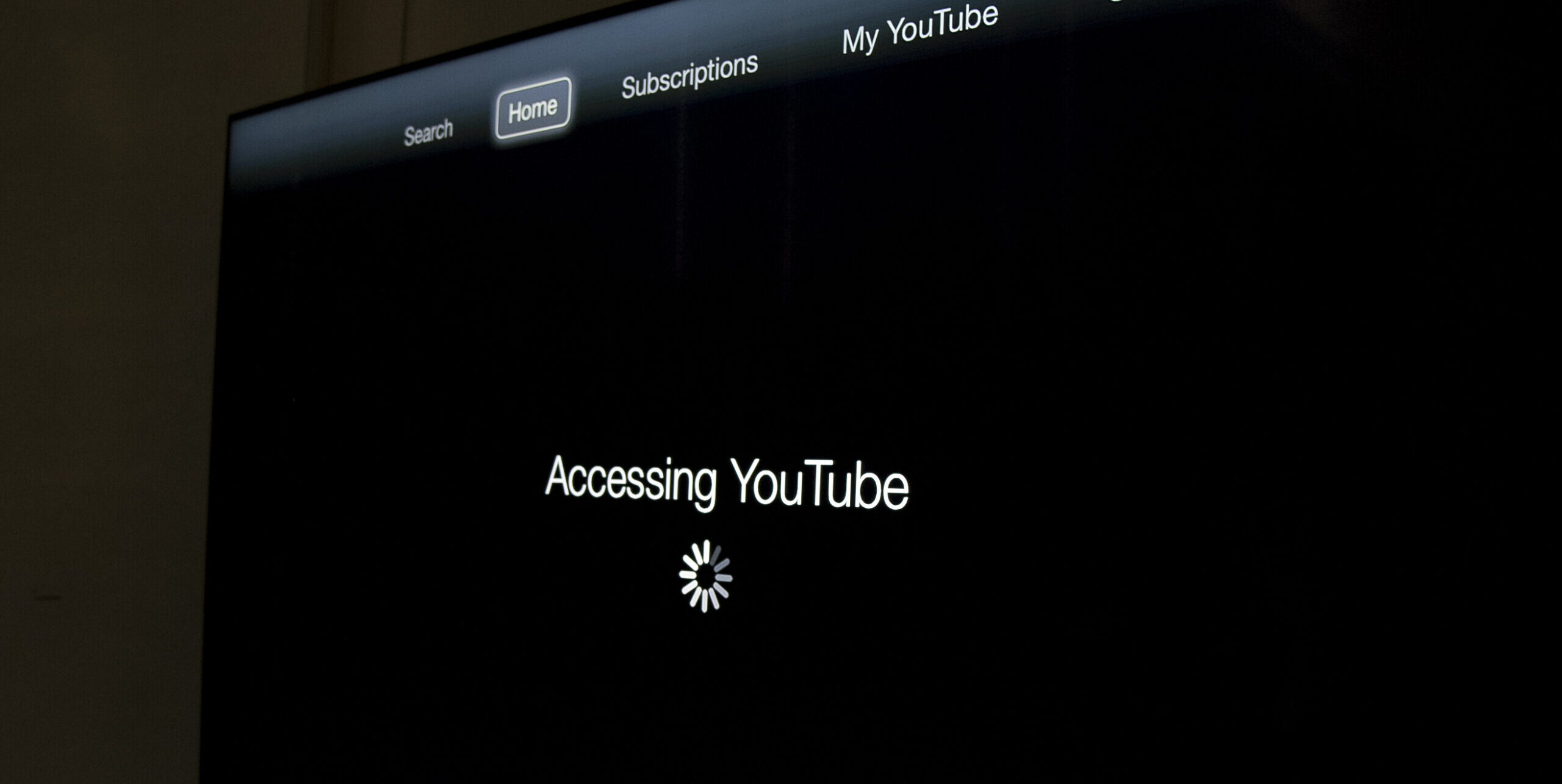 Accessing YouTube Screen Capture