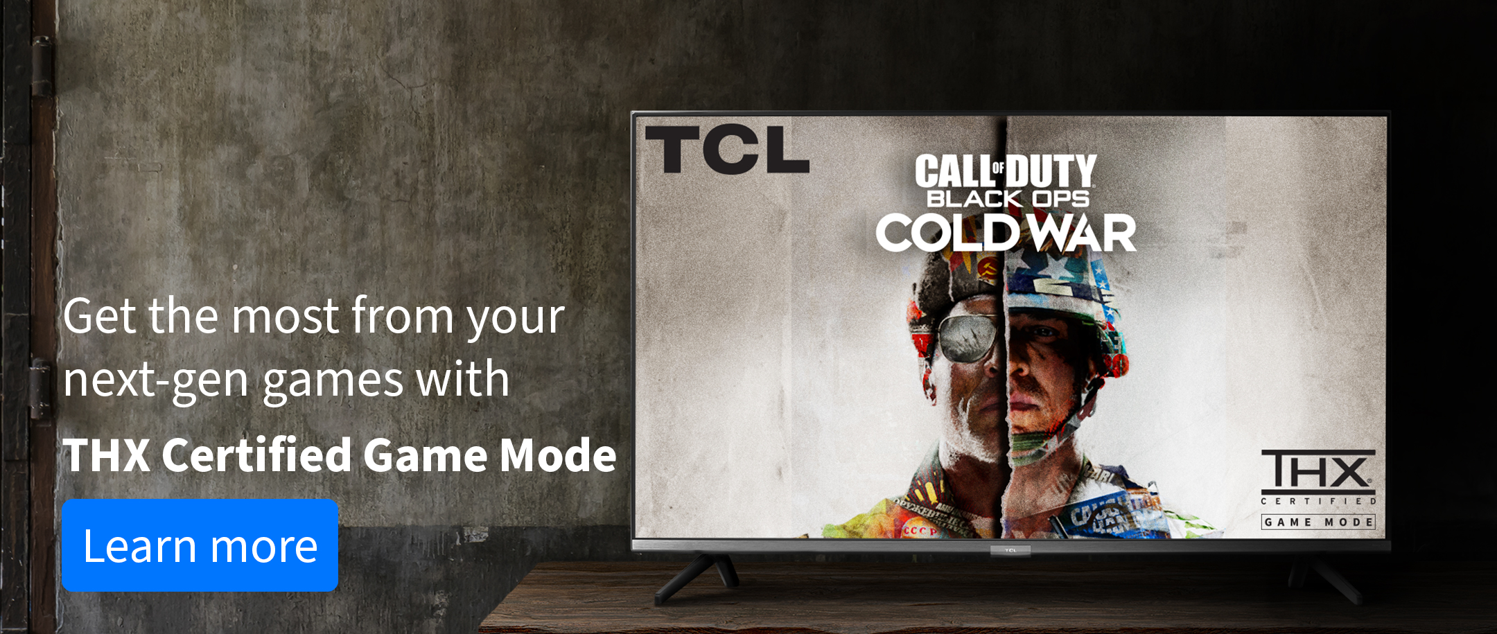TCL 6 Series TV with Call of Duty:Cold War