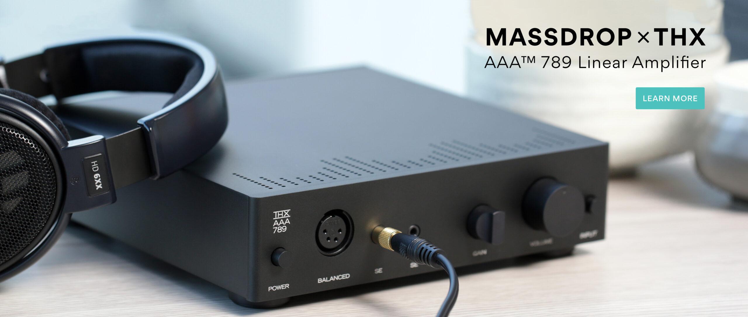 Massdrop x THX AAA Linear Amplifier