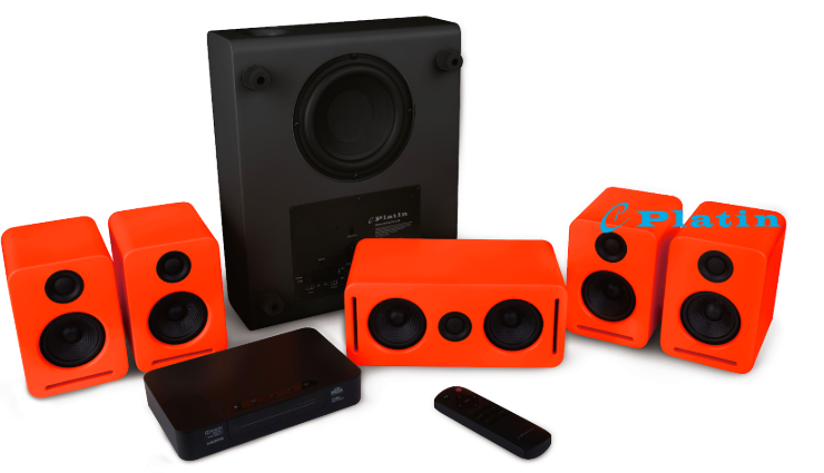 Tuned by THX™ Monaco 5.1 Immersive Wireless Home Audio System™ from Platin
