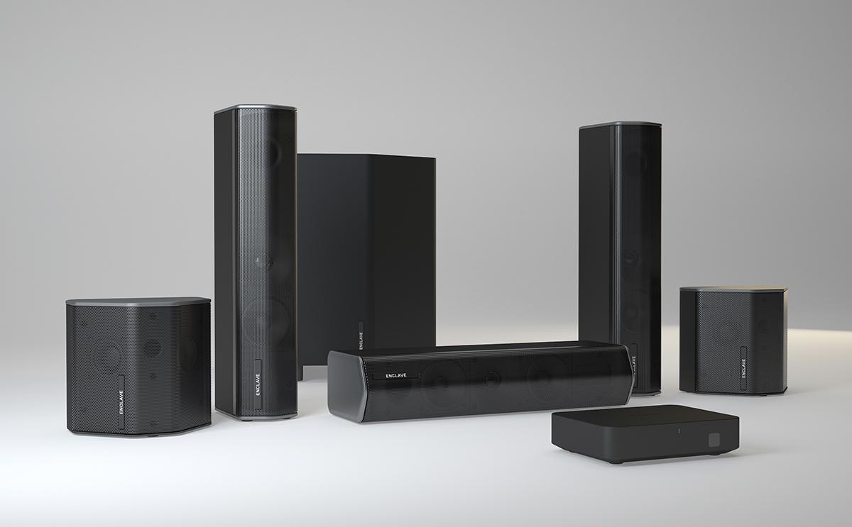 Enclave Audio 5.1 speaker system