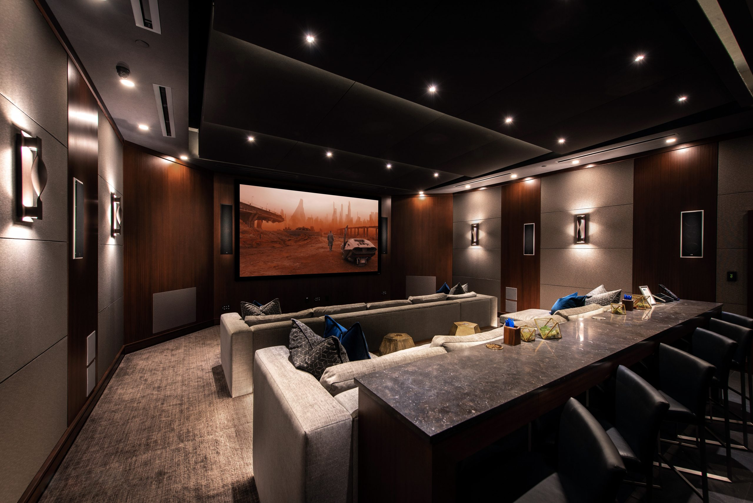 KEF's THX Certified Music Lounge Theater
