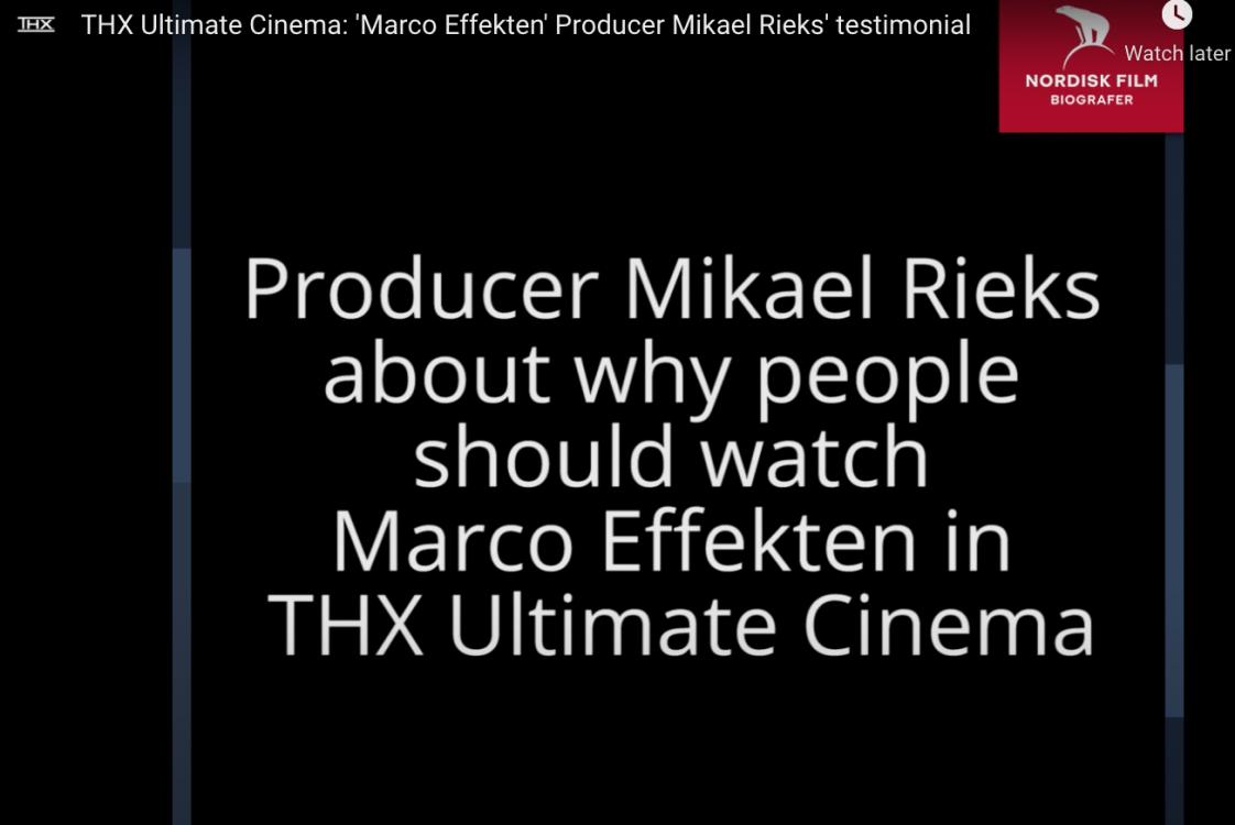 Producer Testimonial